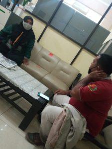 Dokumentasi Pena Rakyat News ketika konfirmasi dengan Siti Aisyah